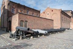 Museo de las fuerzas armadas de Oslo foto de archivo