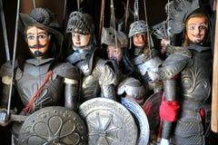 Museo de las marionetas en Palermo, Sicilia, Italia Imágenes de archivo libres de regalías