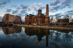 Museo de las obras públicas en Baltimore, Maryland imagen de archivo libre de regalías