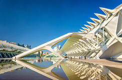 Museo de les Ciencies Principe Felipe at the City of Arts and Sciences in Valencia, Spain Royalty Free Stock Image