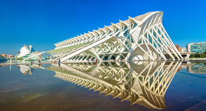 Museo de les Ciencies Principe Felipe at the City of Arts and Sciences in Valencia, Spain Stock Images