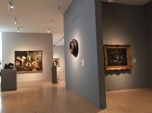 Museo de los artes agradable interiores Fotos de archivo