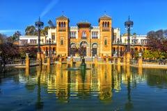 Museo de los artes y de las tradiciones, Sevilla foto de archivo