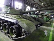 Museo de los tanques y de las armas acorazadas Museo dedicado al equipo militar y a la tecnolog?a Detalles y primer foto de archivo libre de regalías