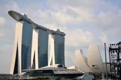 Museo de Marina Bay Sands y de ArtScience Fotografía de archivo libre de regalías