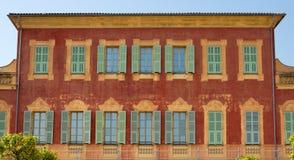 Museo de Matisse, Niza, Francia Imágenes de archivo libres de regalías