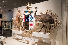 Museo de Melbourne Fotos de archivo libres de regalías