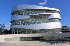 Museo de Mercedes-Benz Imagen de archivo libre de regalías