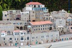 Museo de miniaturas de Israel Fotos de archivo libres de regalías
