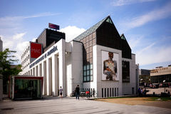 Museo de Montreal del arte contemporáneo imagen de archivo