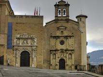 Museo de Navarra i Pamplona Royaltyfri Fotografi