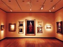 Museo de New Britain de la exposición de arte americana imagen de archivo