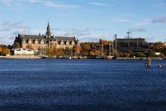 Museo de Nordiska y de los vasos Fotos de archivo