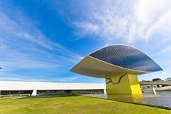 Museo de Oscar Niemeyer Imagenes de archivo