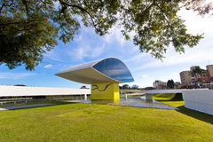 Museo de Oscar Niemeyer Foto de archivo libre de regalías