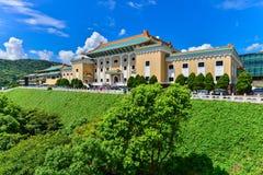Museo de palacio nacional en Taipei, Taiwán Imagen de archivo libre de regalías