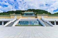 Museo de palacio nacional en Taipei, Taiwán Fotografía de archivo