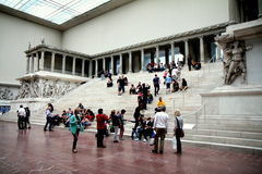 Museo de Pergamon en Berlín Fotografía de archivo