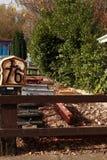 Museo de Railworld carriles a partir del pasado Foto de archivo libre de regalías