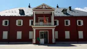 Museo de rey Nikola en Cetinje, Montenegro imagen de archivo libre de regalías