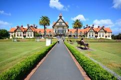Museo de Rotorua imagenes de archivo
