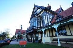 Museo de Rotorua, Nueva Zelandia Foto de archivo libre de regalías