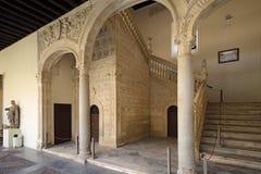 Museo De Santa Cruz muzeum świętego krzyż, Toledo, Hiszpania Zdjęcia Stock