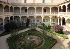 Museo De Santa Cruz muzeum świętego krzyż, Toledo, Hiszpania Obraz Royalty Free