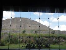 Museo de Sitio - Museum von Teotihuacan in Mexiko lizenzfreie stockfotografie