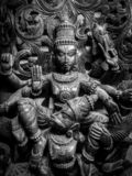 Museo de Sri Venkateswara del arte del templo en Tirupati, la India imagen de archivo