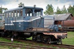 Museo de trenes. Rusia Imágenes de archivo libres de regalías