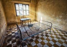 Museo de Tuol Sleng/21 genocidios, Phnom Penh, Camboya Imagen de archivo