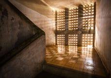 Museo de Tuol Sleng/21 genocidios, Phnom Penh, Camboya Foto de archivo