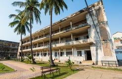 Museo de Tuol Sleng/21 genocidios, Phnom Penh, Camboya Imágenes de archivo libres de regalías