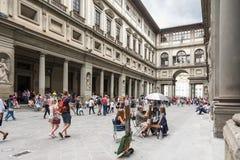 Museo de Uffizi Imagen de archivo libre de regalías