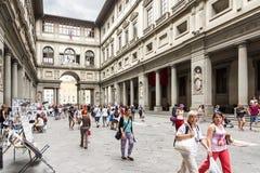 Museo de Uffizi Imagenes de archivo