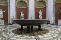 Museo de Vatican imagen de archivo