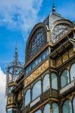 Museo degli strumenti musicali fatto dal lavoro del ferro a Bruxelles fotografia stock