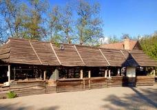 Museo dei cosacchi ucraini Fotografia Stock