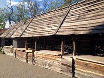 Museo dei cosacchi ucraini Immagine Stock Libera da Diritti