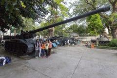 Museo dei resti di guerra in Ho Chi Minh, Vietnam Fotografia Stock Libera da Diritti