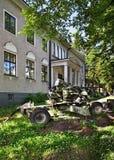 Museo dei veterani in Imatra finland immagine stock libera da diritti