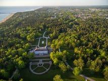 Museo del ámbar de Palanga Lugar de visita turístico de excursión lituania Fotografía de archivo