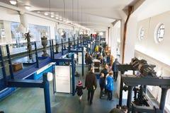 Museo del abastecimiento de agua de Praga, central depuradora de Podoli, Praga, checa Imagenes de archivo
