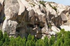 Museo del aire abierto - casas de la paloma de la cueva Imagenes de archivo