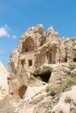 Museo del aire abierto - casas de la paloma de la cueva Foto de archivo libre de regalías