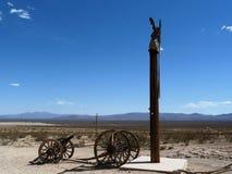 Museo del aire abierto de Goldwell, Death Valley Foto de archivo libre de regalías