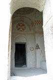 Museo del aire abierto de Goreme en Cappadocia Imagenes de archivo