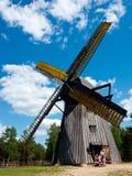 Museo del aire de la operación de Wdzydze Kiszewskie, el molino de viento imágenes de archivo libres de regalías