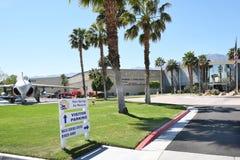 Museo del aire del Palm Springs Fotos de archivo